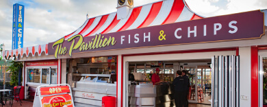 Pavillion Fish & Chips Exterior